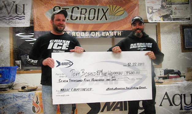 Tony Boshold Wins NAIFC Championship